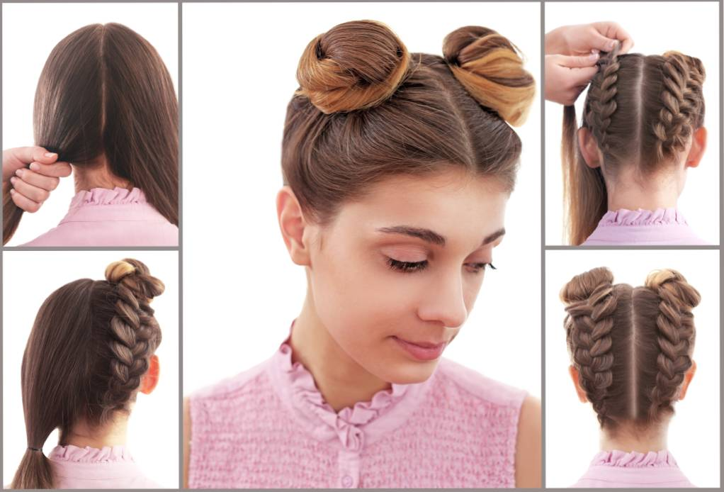 Space Bun Hairstyle