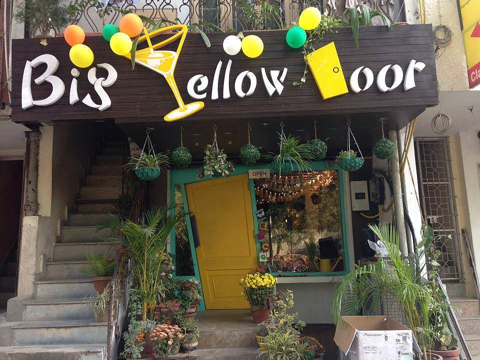 Big Yellow Door Cafe, Delhi