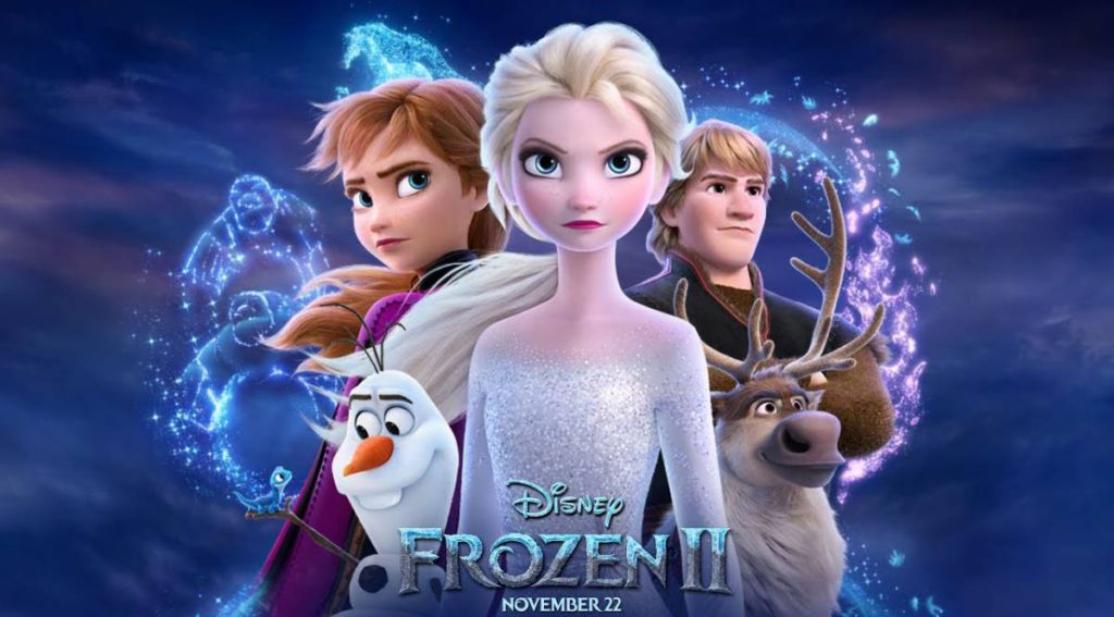 Frozen 2, directed by Jennifer Lee and Chris Buck
