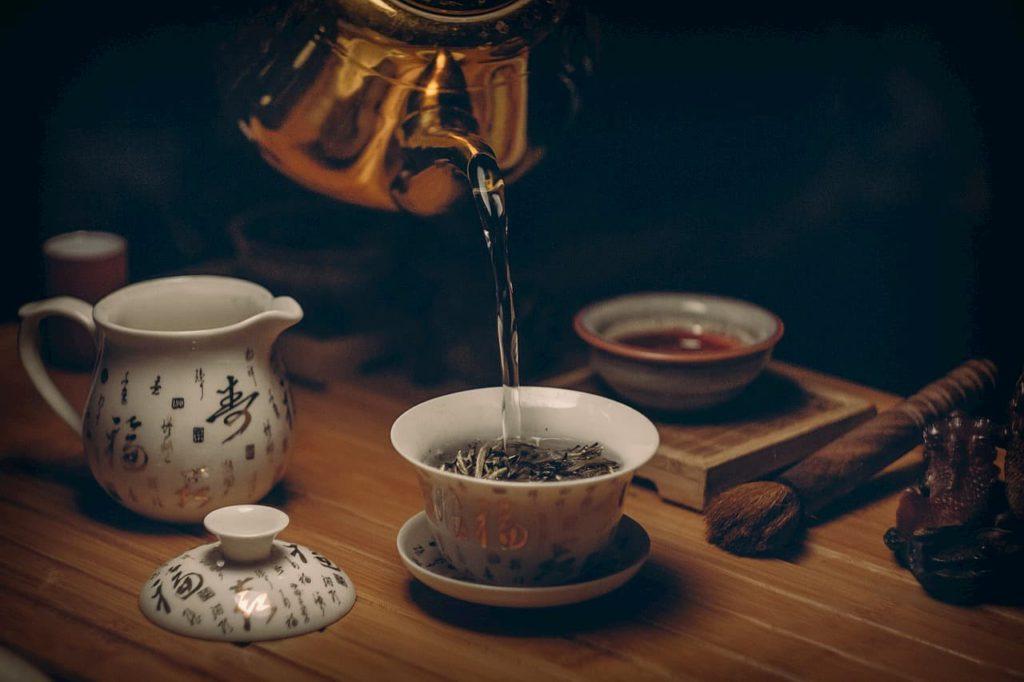 Green Tea Brewing