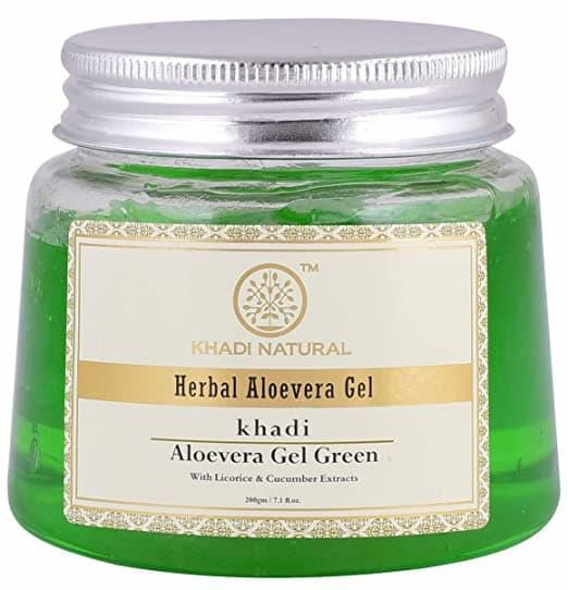 Khadi Natural Aloe Vera Gel Green